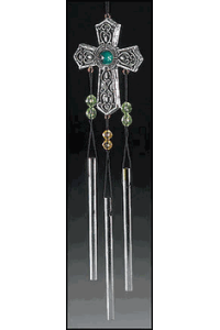Celtic Cross Wind Chime