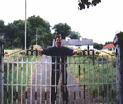 Terry at Drumgrania Farm Gate