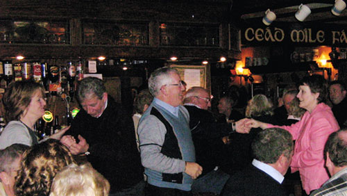Dance Floor at O'Carolan's Pub,Mohill,Ireland