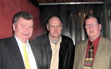 Vincent Shanley, Gerry Bohan and Terry Reynolds