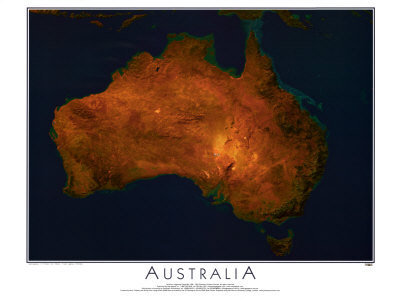 Australia from Space - ©Spaceshots