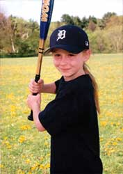 Jordan in Little League