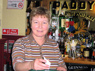 Kathleen Duffy at Mary Lynch's Pub