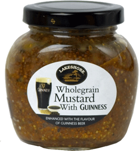 Wholegrain Mustard with Guinness Stout