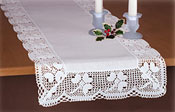 Kilkenny Irish Linen and Lace Runner