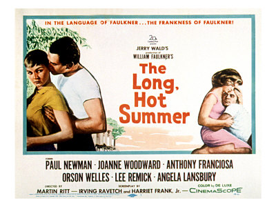 The Long, Hot Summer, Joanne Woodward, Paul Newman, Lee Remick, Anthony Franciosa, 1958