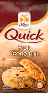 Odlums Quick Scone Mix - Fruit
