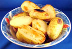 Grilled Potato Halves